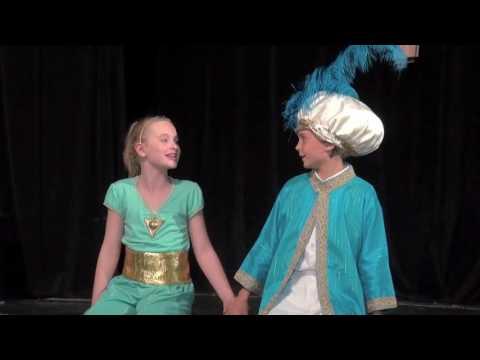 """""""A Whole New World"""" - Aladdin - Center Stage Theatre Co."""
