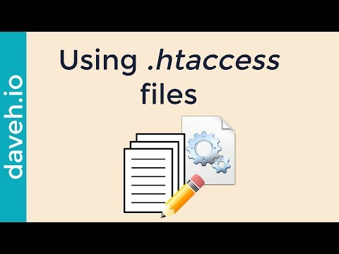 Using .htaccess Files: Common Usage And An Example