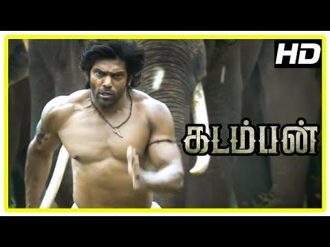 Kadamban Tamil Movie | Climax Scene | End Credits | Arya | Catherine Tresa | Yuvan Shankar Raja