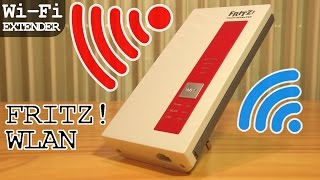 FRITZ!WLAN Repeater 1750e Wi-Fi Extender | Unboxing - Installation - Configuration - Settings