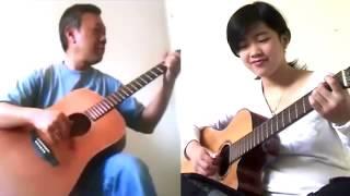 Bài Không Tên Số 4 - Virginia Nguyen - Song Tấu Guitar