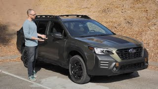 2022 Subaru Outback Wilderness Test Drive Video Review
