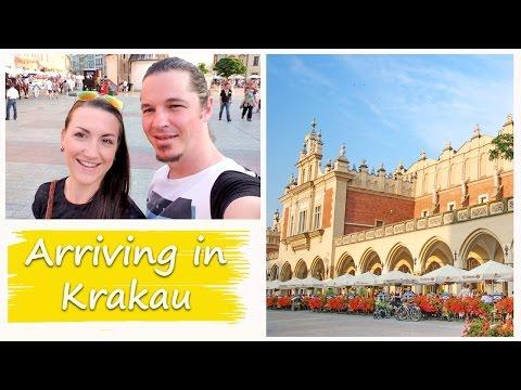 TRAVEL POLAND | KRAKAU Vlog 46 - Arriving in Krakau.