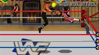 WWF In Your House PC DOS - Triple H Playthrough