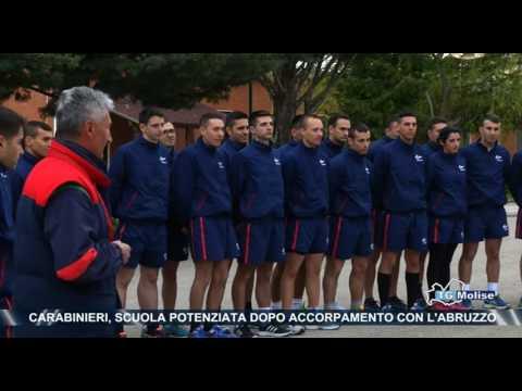 Carabinieri, scuola potenziara dopo accorpamento con l'Abruzzo