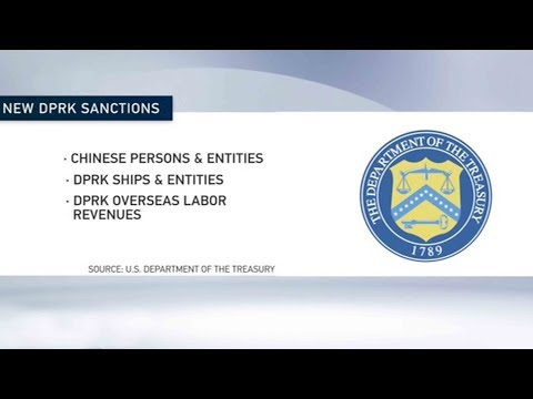 US Treasury Department issues new sanctions on DPRK