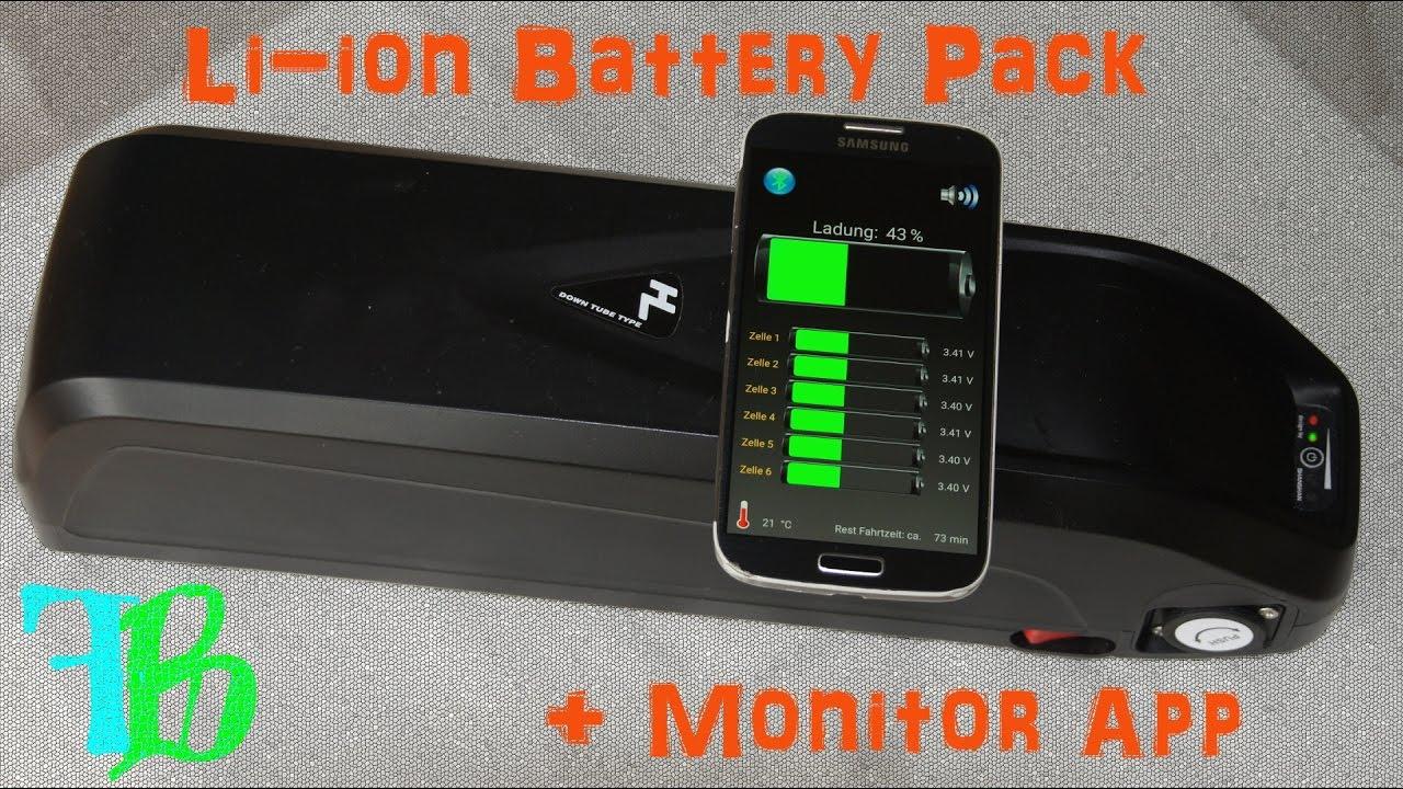 DIY Battery Pack + Arduino BMS + Bluetooth e-bike - Part III