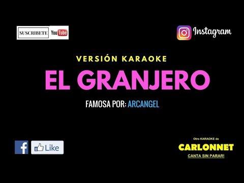 El Granjero - Arcangel (Karaoke)