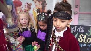 Everleigh and Pirate Diesel DANCE BATTLE! Ava Mermaid tail transformation!