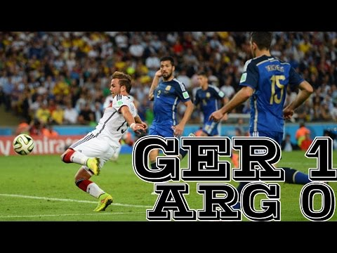 Goetze Extra Time Goal Leads Germany [Germany vs. Argentina World Cup Final]