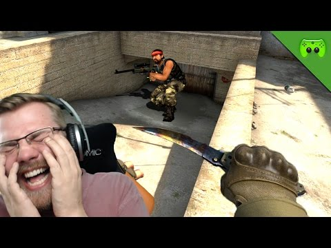 KNIFE CHALLENGE :D 🎮 Counterstrike: Global Offensive #187