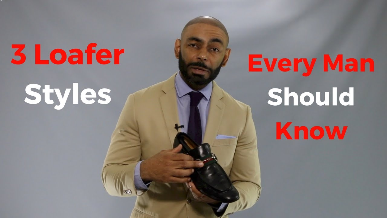 72f6c9a74e1 3 Loafer Styles Every Man Should Know ( Men's Loafer Guide ) - YouTube