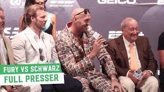 Full Pre-Fight Press Conference: Tyson Fury vs. Tom Schwarz