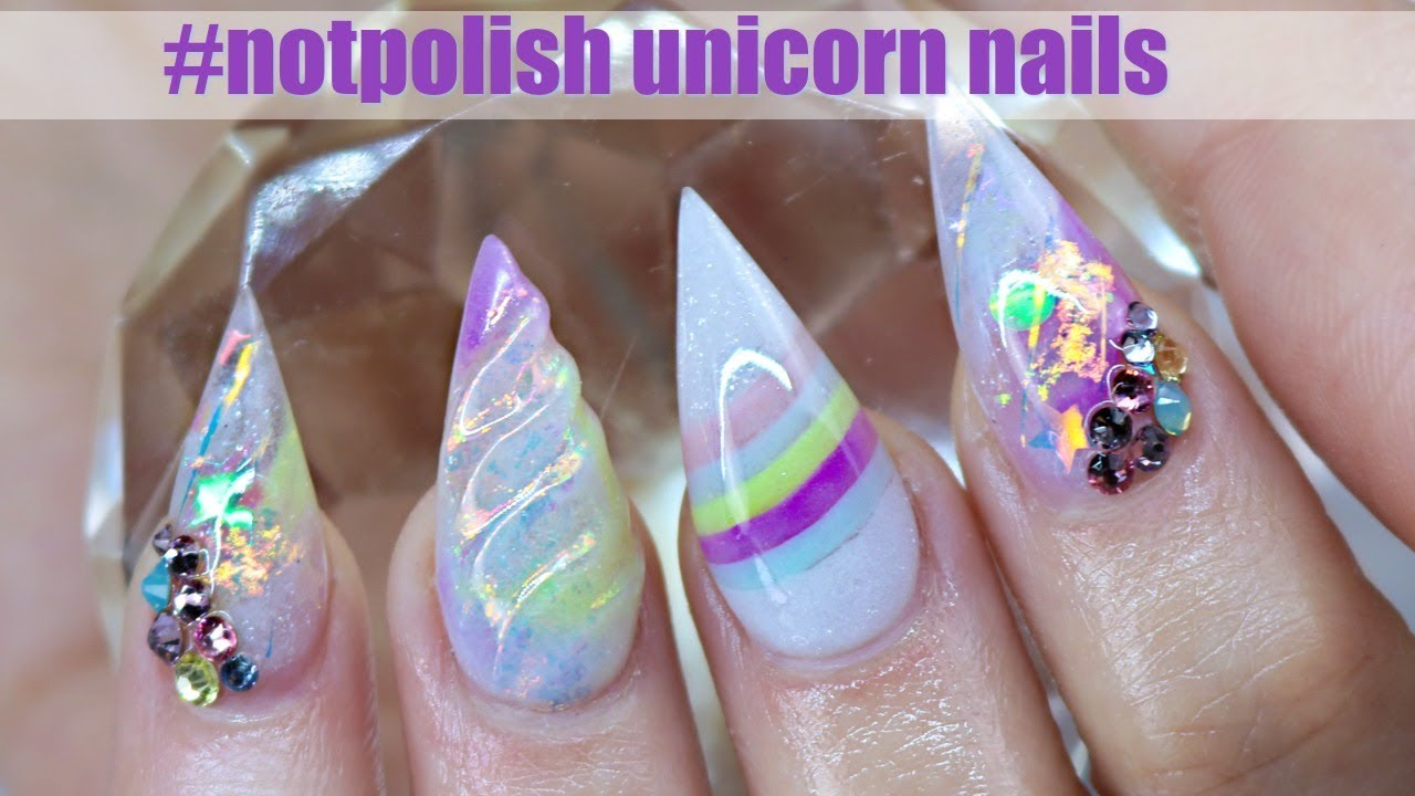 ACRYLIC UNICORN NAIL TUTORIAL