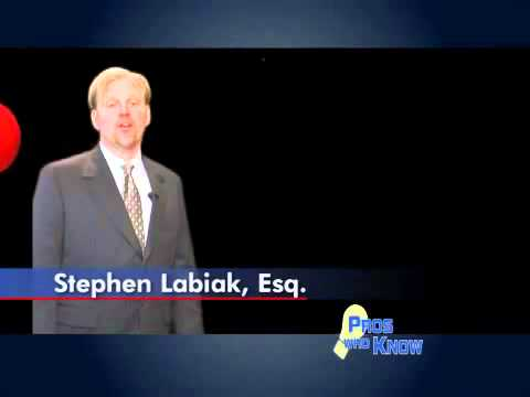 Attorney Stephen Labiak: Pros Who Knows Tip 4