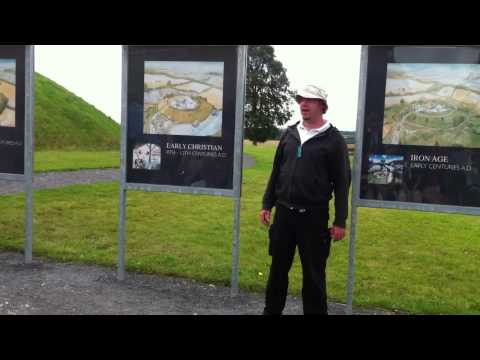 Knowth Mate Druids and Too Many Tourists