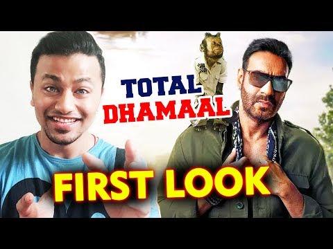 TOTAL DHAMAAL First Look | Ajay Devgan & Crystal The Monkey Mp3