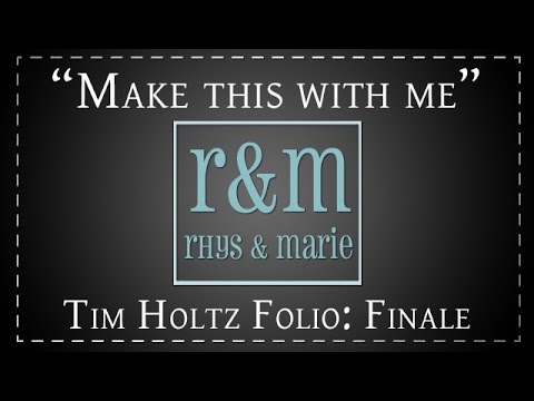 Tim Holtz Folio Mini: Part 6- Finale