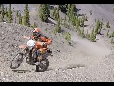 Dirtbike Hill Climbing & Trails - Breckenridge