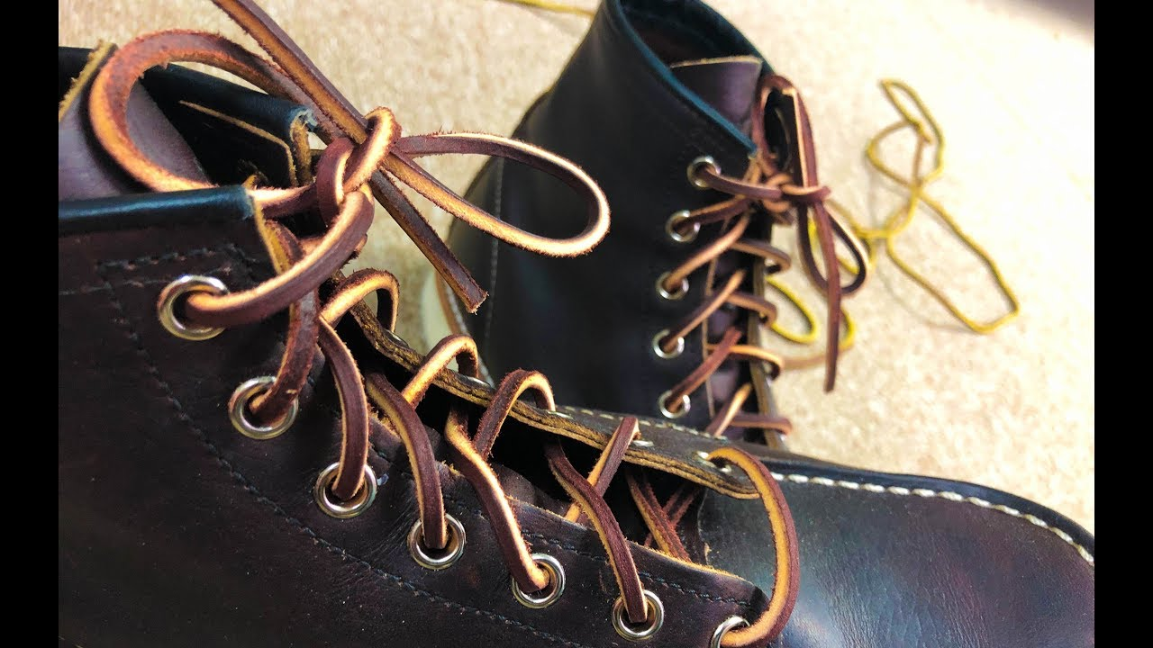 Best Leather Boot Laces [2020 Reviews