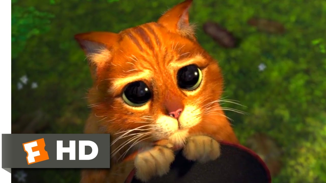 Shrek 2 (2004) , Puss in Boots Scene (3/10)
