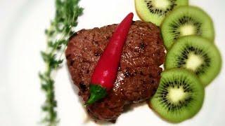 Кулинарный рецепт. Говядина с киви