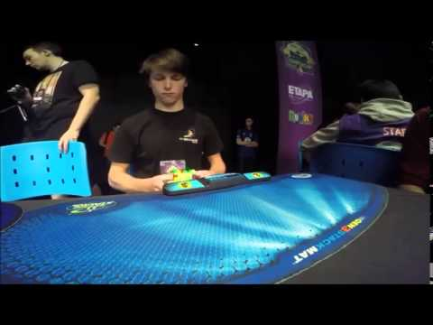 records du monde rubik's cube