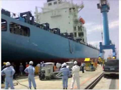 Hanjin's first Subic-made ship underwent sea trials