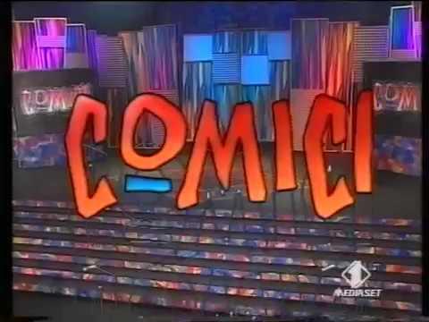 Corrado Guzzanti  Comici Italia1 1998