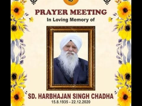 Exclusive-Live-Now-Prayer-Meeting-In-Memory-Of-S-Harbhajan-Singh-Ji-Chadha-From-Moradabad