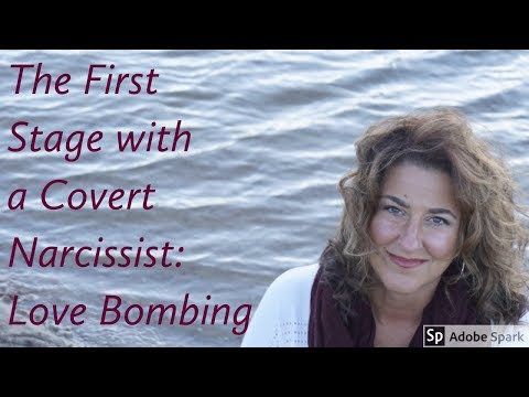 The First Stage with a Covert Narcissist: Love Bombing