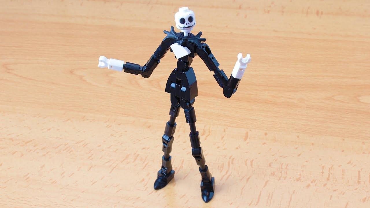 LEGO custom Jack Skellington SANTA Minifigure Nightmare before Christmas minifig