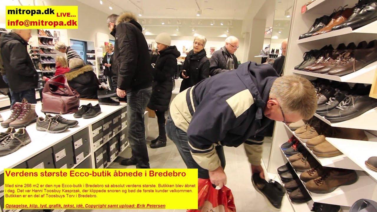 bester Lieferant Fang großer Rabatt Verdens største Ecco butik åbnede i Bredebro