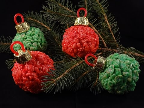 Rice Krispies Ornaments - with yoyomax12