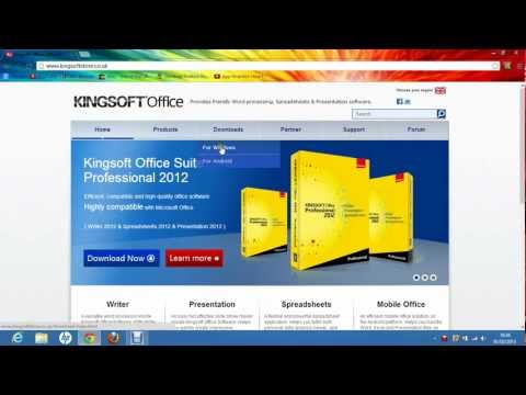 How To Download Kingsoft Office For Windows For Free