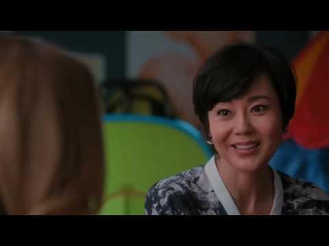 Donnabella Mortel with Yunjin Kim in ABC's