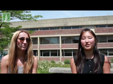 UVM Pre-College Health Summer Academy Students