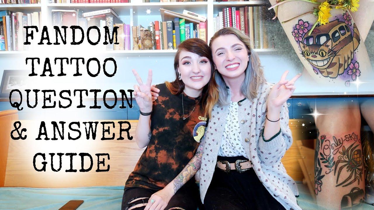 Fandom Tattoo Question and Answer Guide! Tattoo Talk ...