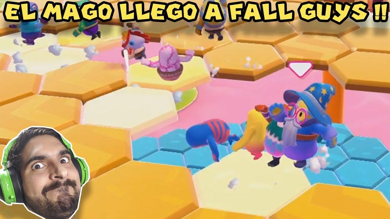 EL MAGO LLEGO A FALL GUYS !! - Fall Guys con Pepe el Mago (#9)
