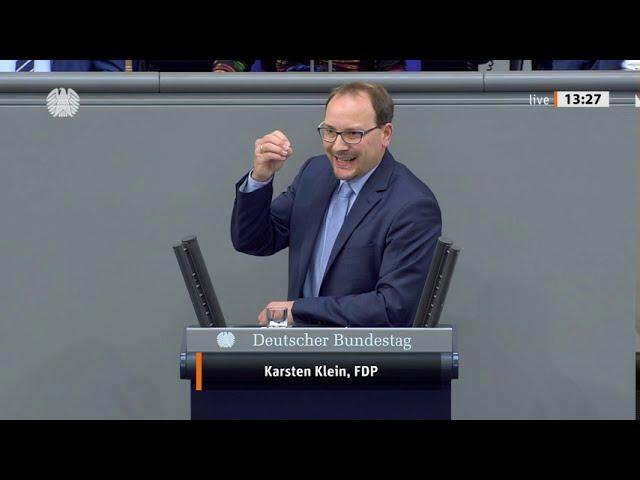 Karsten Klein, FDP: Rede zum Einzelplan Wirtschaft in der 1. Lesung für den Bundeshaushalt 2021