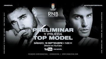 Preliminar y Prueba Top Model a Mister RNB España 2021 en Periana