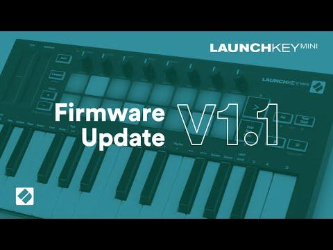 Launchkey Mini [MK3] - v1.1 Firmware Update // Novation