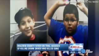Dad accused of killing drunk driver who killed his sons   USA TODAY