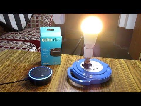 Amazon Echo Dot - Full Setup Tutorial In Hindi 2017