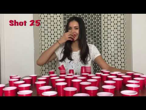 Nina Dobrev doing shots! [30,000 Subbers]