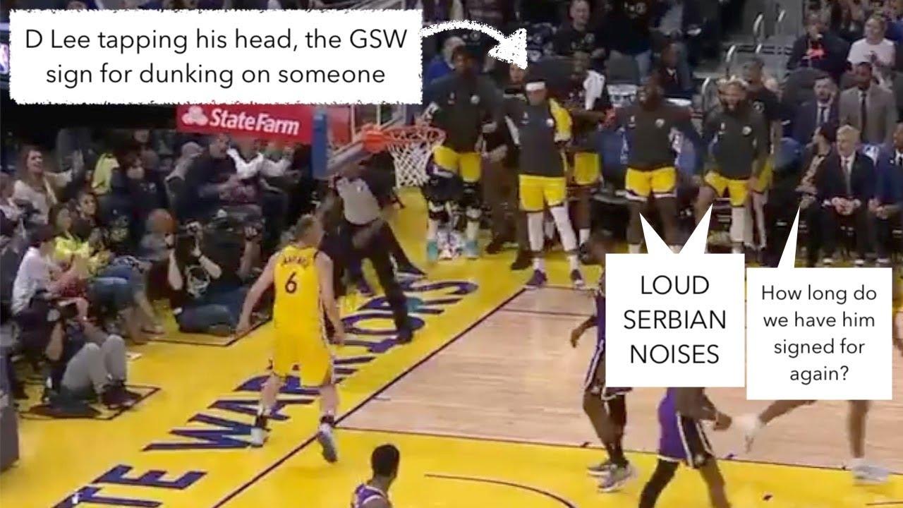 Explain One Play: Alen Smailagic Dunks on LeBron (short version)