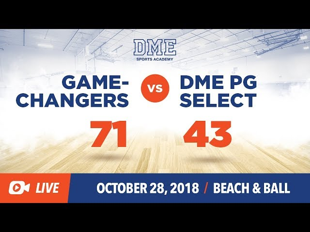 Game Changers vs DME Select