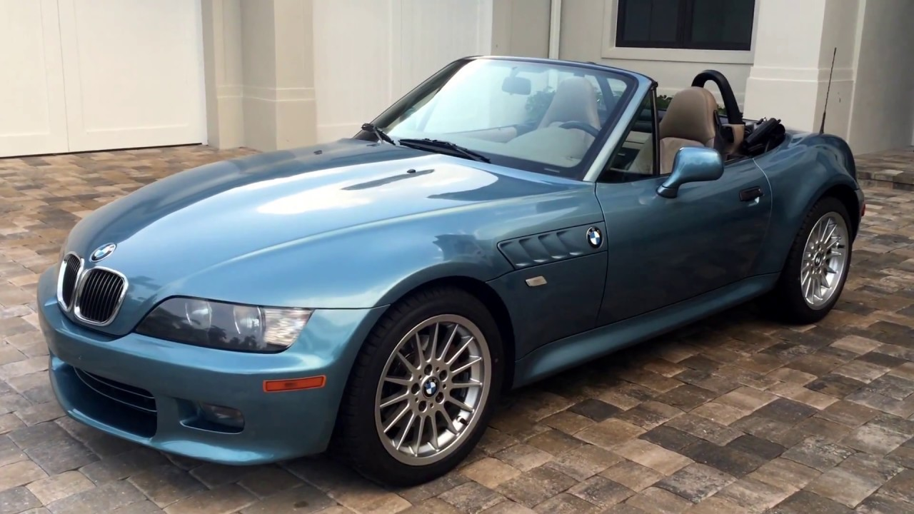 2001 Bmw Z3 3 0 Roadster For Sale By Auto Europa Naples