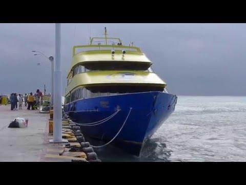 Playa del Carmen, Mexico - Ferry Pier HD (2016)