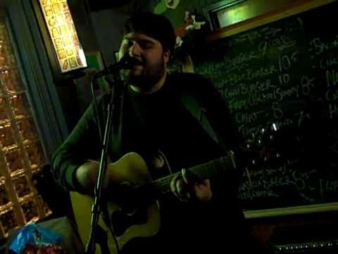 Download Kenn Kweder's Nuclear Hootenanny Open Mic Night 1-3-11 video # 4 . Taped By: L . A . Ives